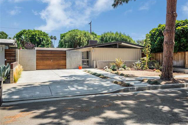 Long beach mid centruy modern home